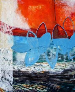 Acryl, Leinwand 100x130 cm