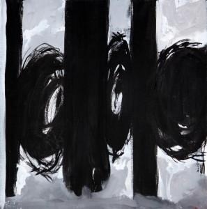 Acryl, Leinwand 40x40 cm